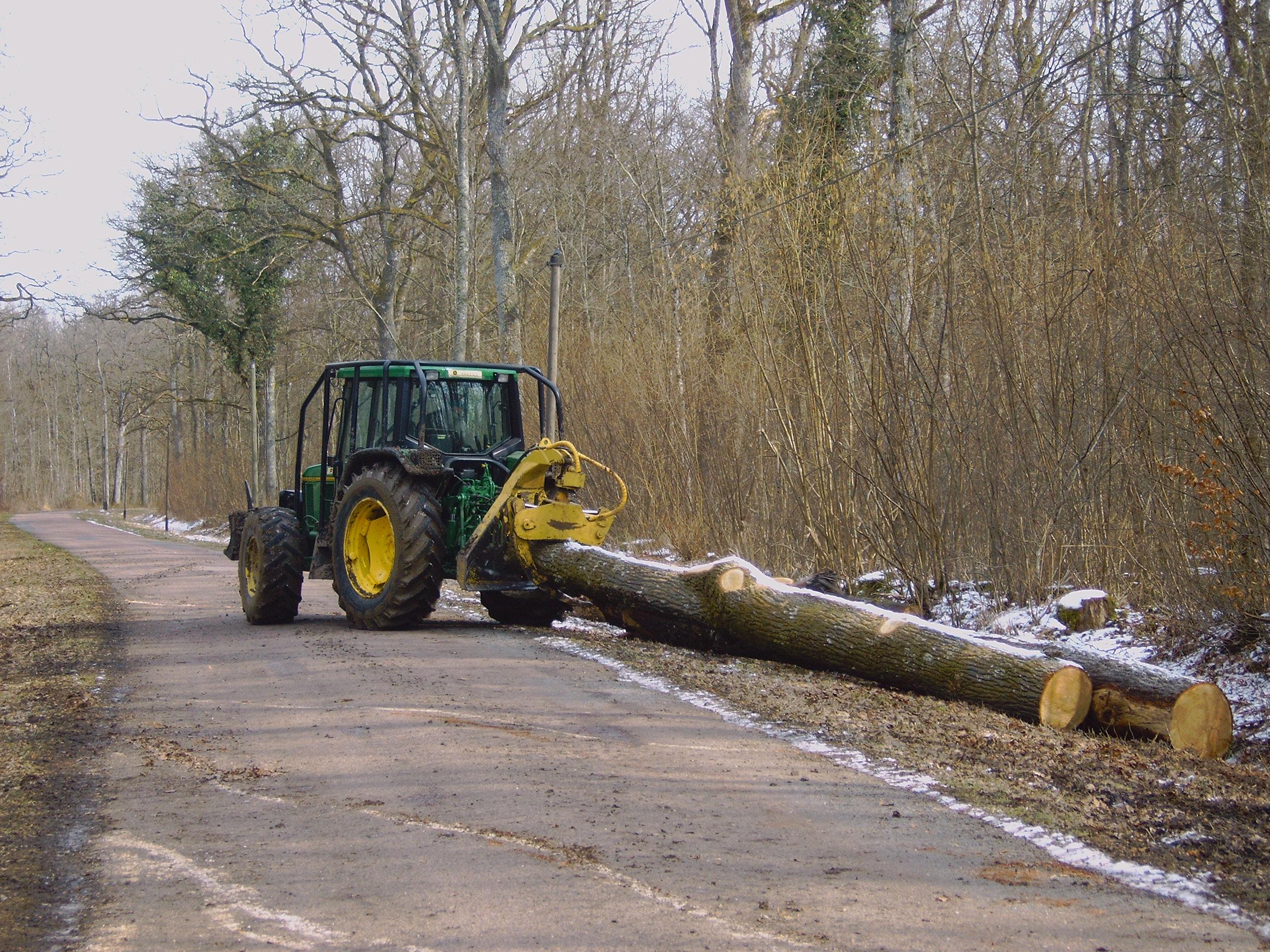Débardage u00b7 SOTREXBOIS # Pince A Bois Pour Tracteur